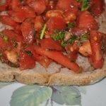 bruschetta (sarımsaklı italyan ekmeği)