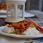 sebzeli pirinç şehriyesi