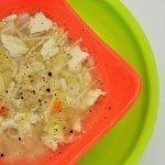Kereviz,pırasa ve tavuklu kış çorbası