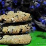 yulaflı ve fıstık ezmeli kurabiye